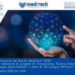 Presentazione del bando MediTech 2020